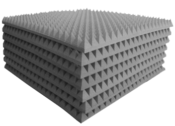Pannelli piramidali fonoassorbenti prezzi - Pannelli decorativi fonoassorbenti ...
