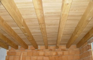 Soffitto In Legno Lamellare : Coperture in legno